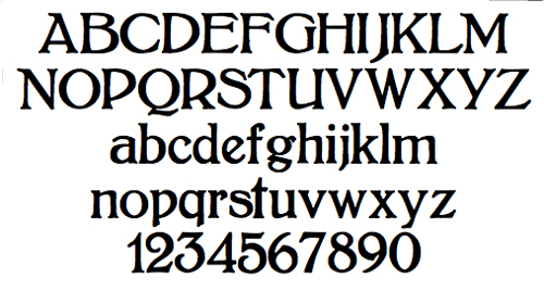 Common Fonts And What They Look Like